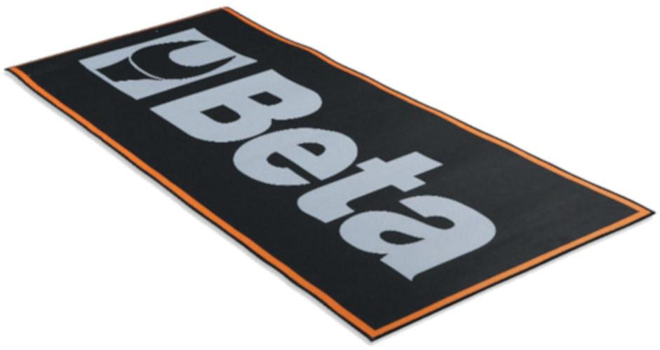 Beta werkplaatsmat 9562P2 200 x 80 cm polyester/rubber zwart