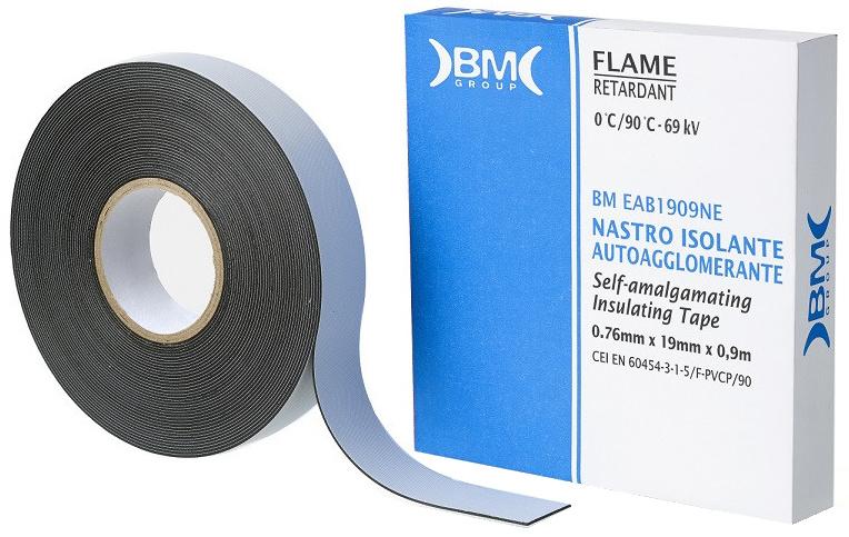 Beta zelf fuserende tape 1639ESB EPR 9 m PVC 19 mm zwart