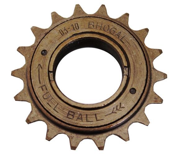 Afbeelding van Bhogal Freewheel 18T 1/2 X 1/8 Inch Bruin