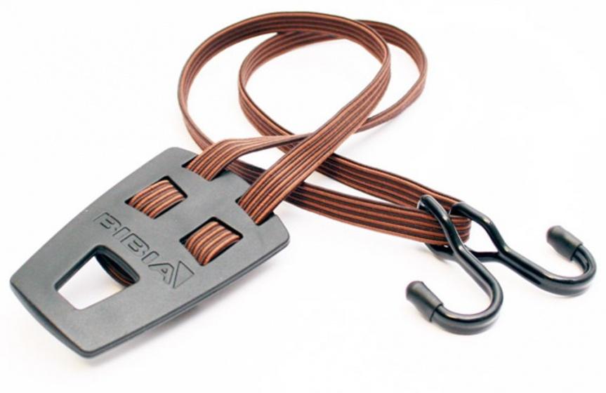 Bibia transportbinder Retro 12 mm 50 cm met haken bruin