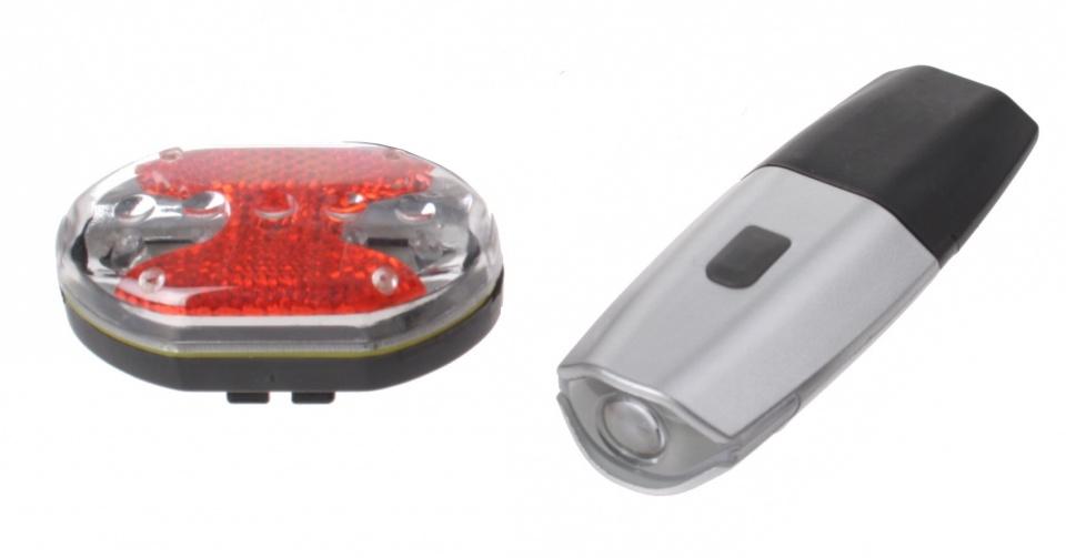 Oplaadbare LED Fietslampenset
