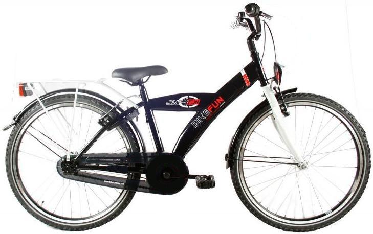 Bike Fun City 24 Inch 36 cm Jongens V Brakes Zwart