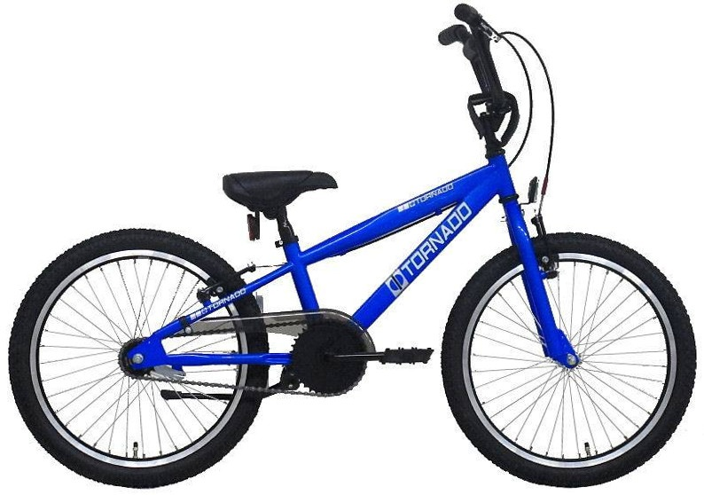 Bike Fun Cross Tornado 20 Inch 26 cm Junior Terugtraprem Blauw