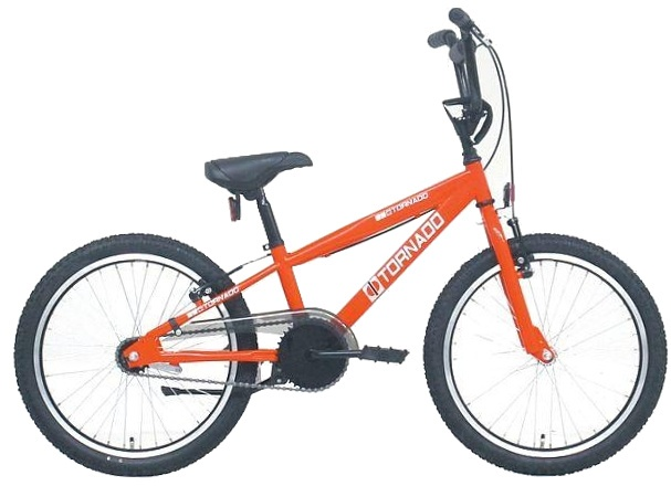 Bike Fun Cross Tornado 20 Inch 40 cm Junior Terugtraprem Rood