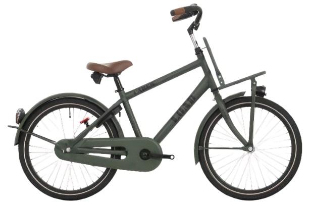 Bike Fun Load 20 Inch 33 cm Jongens Terugtraprem Donkergroen