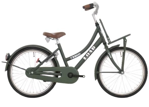 Bike Fun Load 20 Inch 33 cm Meisjes Terugtraprem Donkergroen