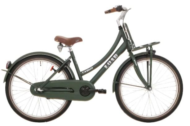 Bike Fun Load 26 Inch 43 cm Meisjes Terugtraprem Donkergroen