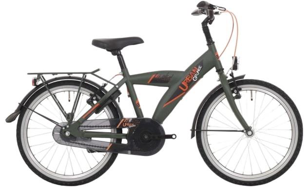 Bike Fun Urban 20 Inch 33 Cm Jongens Terugtraprem Donkergroen online kopen