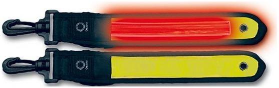 4 Act Tassenband LED Geel 20,3 cm