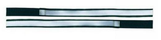 4 Act Veiligheidsarmband Reflectie Grijs 40 cm
