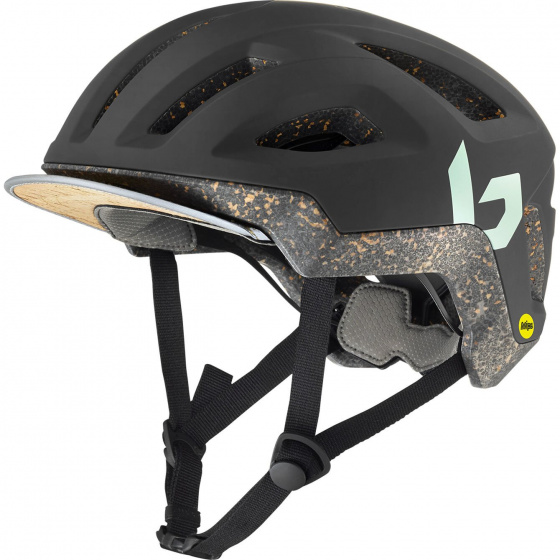 Bollé fietshelm Eco React Mips EPS matgroen maat 59 62 cm