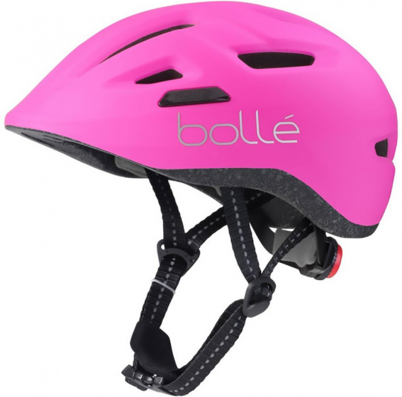 Bollé fietshelm Stance meisjes 47 51 cm roze/zwart mt XS