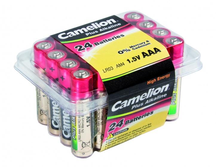 Camelion batterijen Alkaline Plus AAA LR6 24 stuks