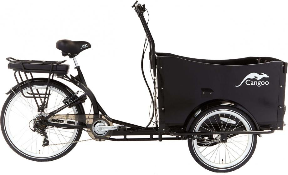 Cangoo Travel 20 Inch Unisex 6v V-brakes Zwart online kopen