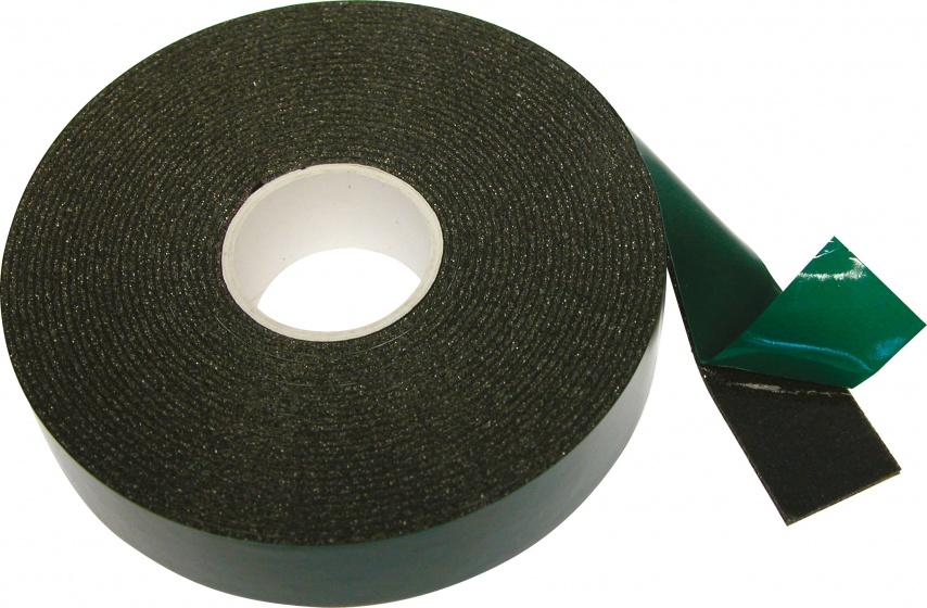 Carpoint dubbelzijdige tape 18 mm 5 meter zwart