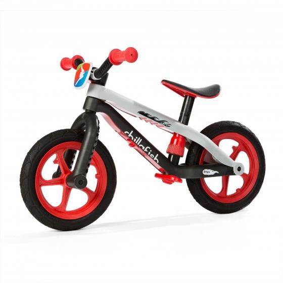 Chillafish BMXie RS loopfiets Junior Zwart/Rood