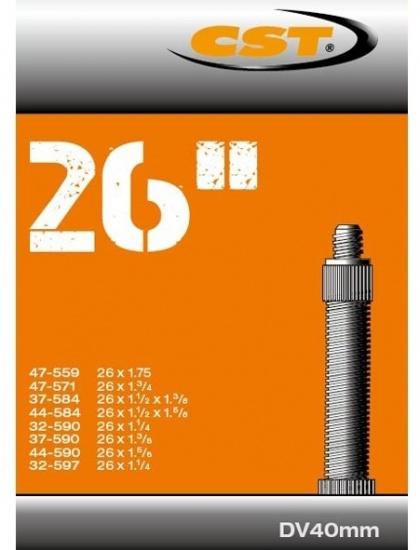 CST Binnenband 26 x 1 1/4 1.75 (47/32 559/597) DV 40 mm