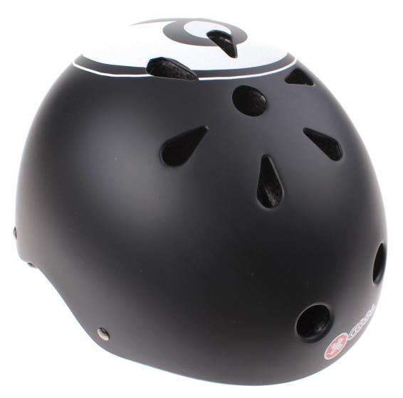 Cycle Tech fietshelm XCool 8 ball zwart maat 48/54 cm