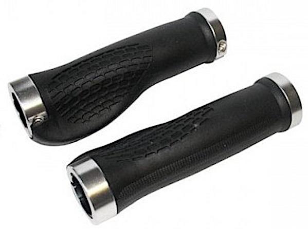 Cycle Tech handvatten 13 cm zwart per paar