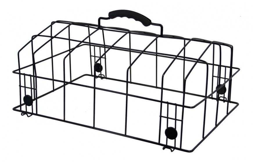 Cycle Tech hondenmandkoepel Padua 38 x 31 x 18 cm zwart