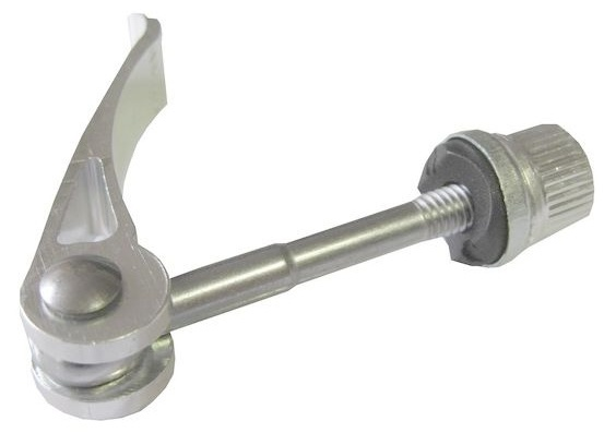 Cycle Tech quickrelease snelspanner 70 mm zilver