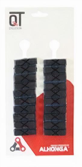 Cycle Tech remblokken Weinmann knijprem 38 x 10 cm zwart 20 stuks