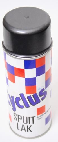Cyclus Spuitlak 400 ml Antraciet Metallic