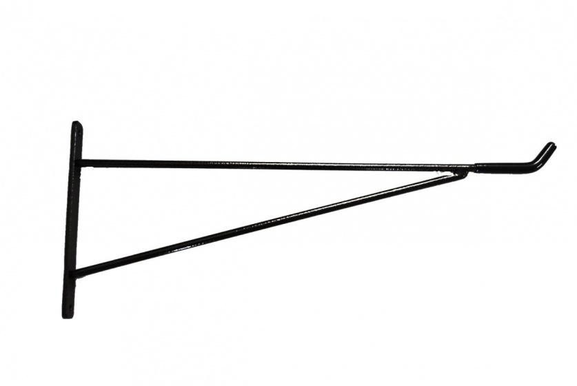 Cyclus wandhaak staal 53 cm zwart per stuk