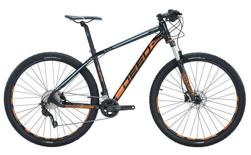 Deed Flame 292 29 Inch 45 cm Heren 10V Hydraulische schijfrem Zwart/Oranje