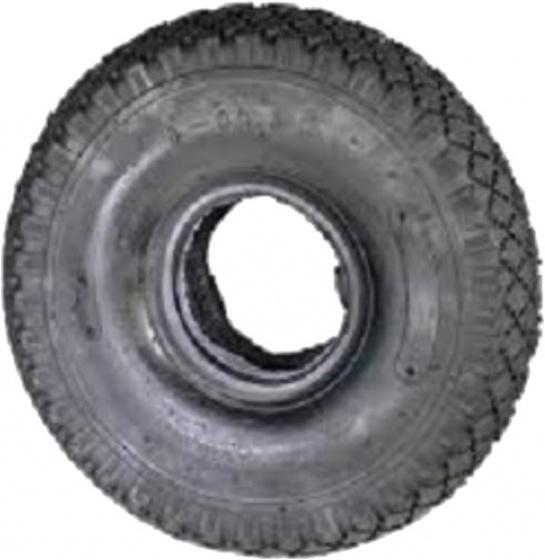 DeliTire buitenband steekwagen 3.00 x 4 rubber zwart
