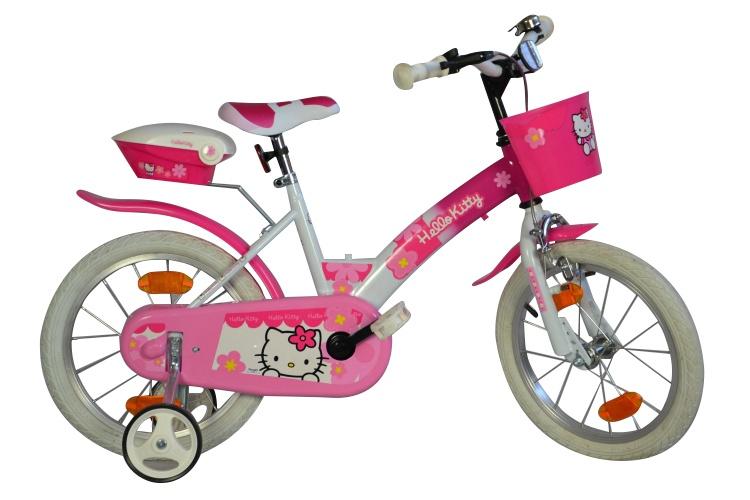 Dino 156NSK Hello Kitty 16 Inch 27 cm Meisjes Knijprem Roze