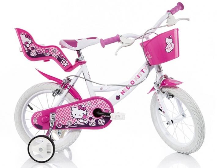 Dino 164R HK Hello Kitty 16 Inch 27 cm Meisjes Knijprem Roze