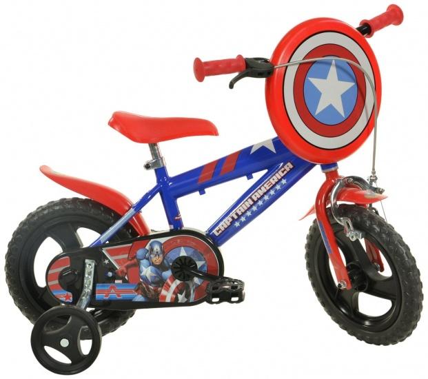 Dino 412UL CA Captain America 12 Inch 21 cm Jongens Knijprem Blauw