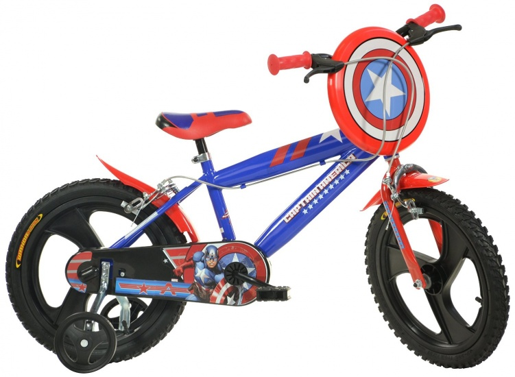 Dino 414UL CA Captain America 14 Inch 24 cm Jongens Knijprem Blauw
