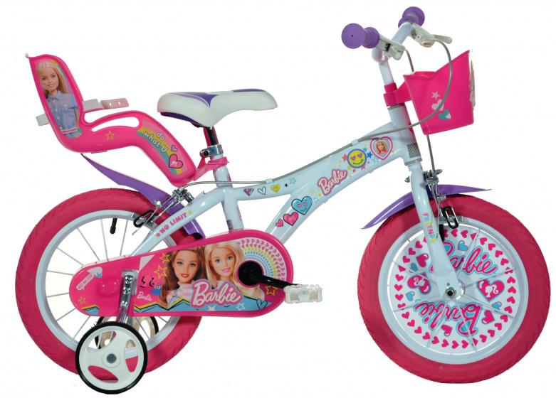 Dino Barbie No Limit 16 Inch 27 cm Meisjes Knijprem Wit/Roze