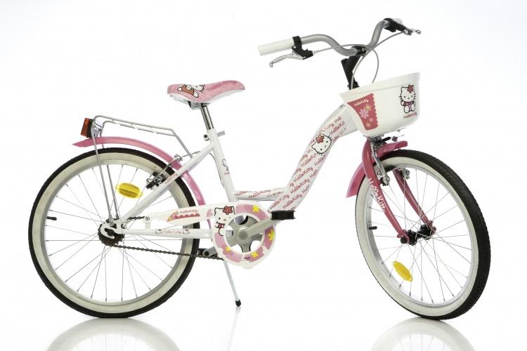 Dino 204R Hello Kitty 20 Inch 27 cm Meisjes V Brake Roze