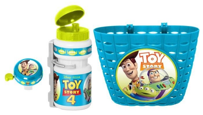 Disney accessoiresset Toy Story blauw 3 delig