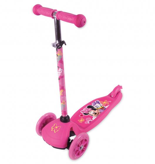 Disney Minnie Mouse 3-wiel Kinderstep Meisjes Voetrem Roze online kopen