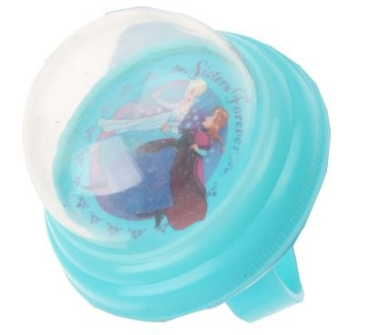 Disney Fietsbel Frozen 55 mm soft blauw