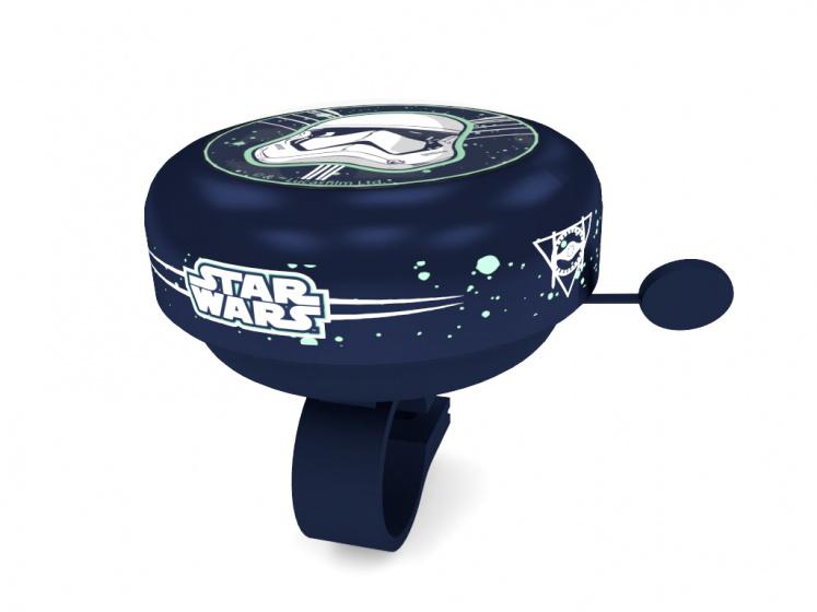 Disney fietsbel Star Wars Stormtrooper junior 5,5 cm blauw
