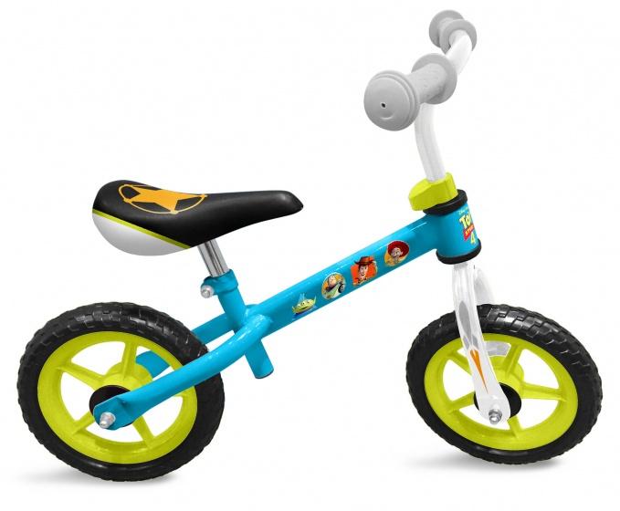 Disney loopfiets Toy Story 10 Inch Junior Lichtblauw/Lichtgroen