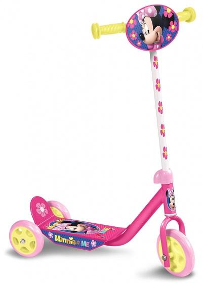 Disney Minnie Mouse 3-wiel Kinderstep Meisjes Voetrem Roze/geel online kopen