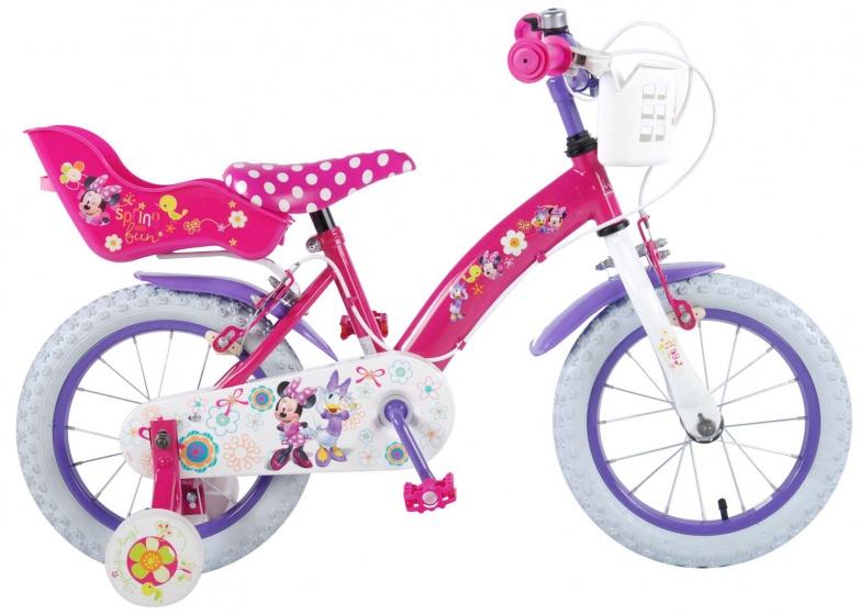 Disney Minnie Mouse 14 Inch 23,5 Cm Meisjes Knijprem Roze/paars online kopen