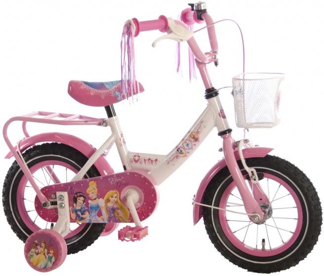 Disney Princess 12 Inch 21,5 cm Meisjes Terugtraprem Wit/Roze