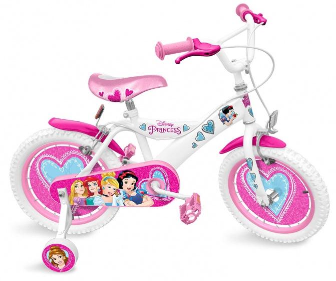 Disney Princess 16 Inch 26 cm Meisjes Knijprem Wit/Roze
