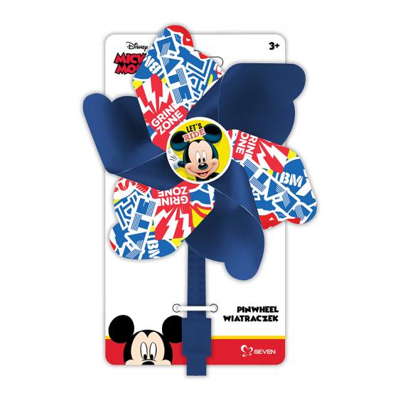 Disney windmolentje Mickey Mouse 17 cm blauw