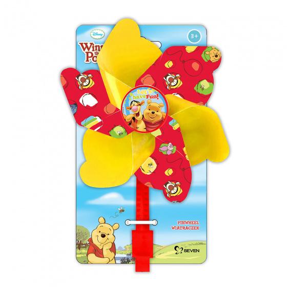 Disney windmolentje Winnie de Poeh 17 cm geel/rood