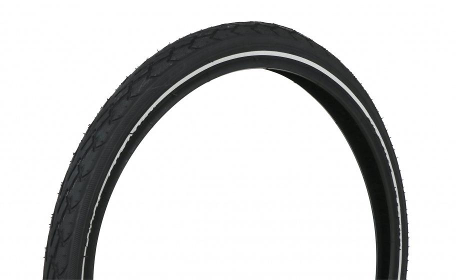 Dresco buitenband 20 x 1.75, 47 406 rubber zwart
