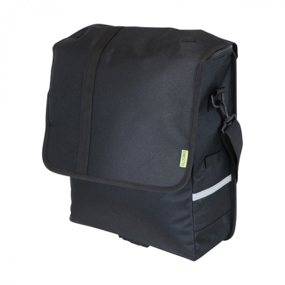 Dresco pakaftas/schoudertas 20 liter nylon zwart
