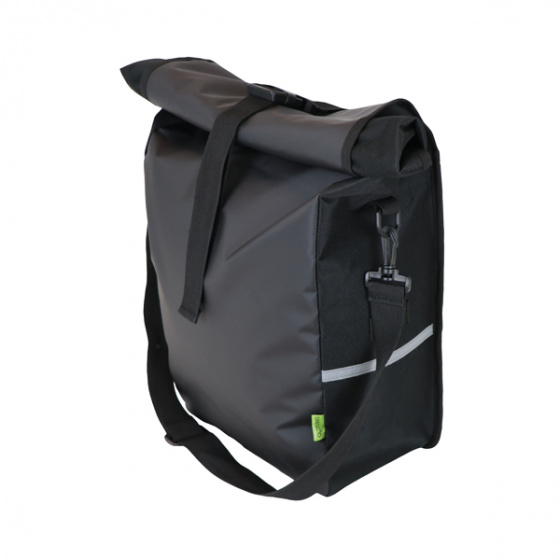 Dresco pakaftas Traveller 18 liter nylon/ bisonyl zwart